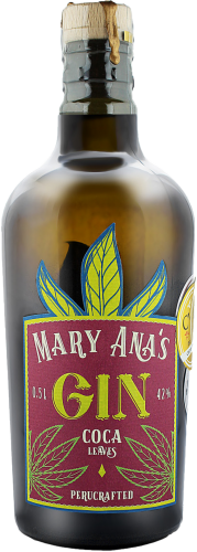 Mary Ana's Coca Leaves Gin