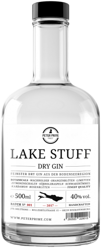 Peter Prime Lake Stuff Dry Gin