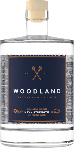 Woodland Sauerland Dry Gin Navy Strength
